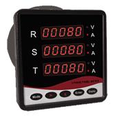 MT80 微電腦多功能三顯三相電壓/電流錶